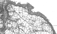 Old Map of Saltwick Bay, 1892 - 1911