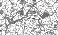 Old Map of Sampford Arundel, 1903