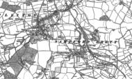 Old Map of Sampford Brett, 1886 - 1887