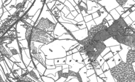 Old Map of Sanderstead, 1894 - 1895