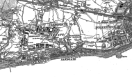Old Map of Sandgate, 1906