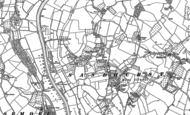 Old Map of Sandhurst, 1883