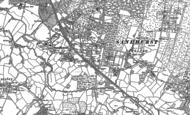 Old Map of Sandhurst, 1909 - 1910