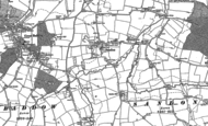 Old Map of Sandon, 1895