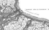 Old Map of Sandsend, 1911 - 1913