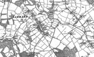 Old Map of Sarratt, 1923
