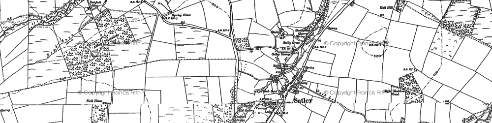 Old map of Adelphi in 1895