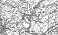 Old Map of Sawley, 1893 - 1907