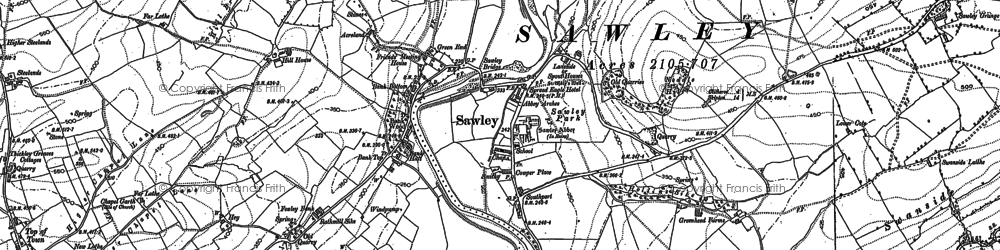 Old map of Lawson Ho in 1893
