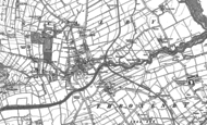 Old Map of Scalby, 1910