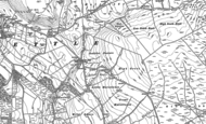 Old Map of Scaleber Force, 1907