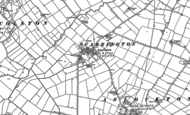 Old Map of Scarrington, 1883 - 1899