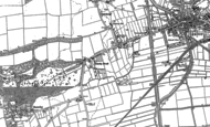 Old Map of Scawby Brook, 1885 - 1886