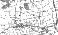 Old Map of Scopwick, 1887
