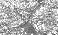 Old Map of Scorrier, 1879 - 1906