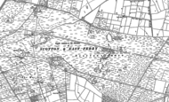 Old Map of Scotton Common, 1885