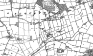 Old Map of Scoulton, 1882