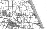 Old Map of Scratby, 1904 - 1905