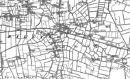 Old Map of Scronkey, 1909 - 1930
