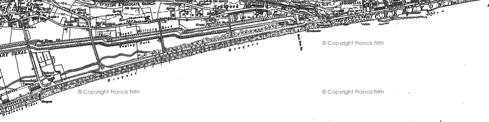 Old map of Seabrook in 1906