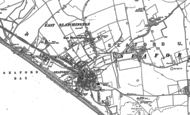 Old Map of Seaford, 1908