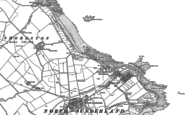 Old Map of Seahouses, 1896