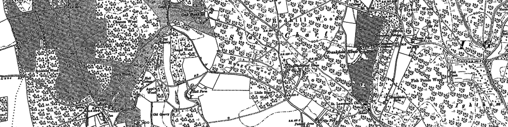 Old map of Seal Chart in 1895