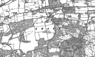 Old Map of Seale, 1895 - 1913