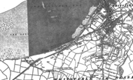 Old Map of Seasalter, 1896 - 1906