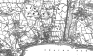 Old Map of Seaton, 1903