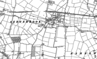 Old Map of Sedgebrook, 1886 - 1887