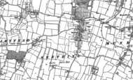 Old Map of Seething, 1884