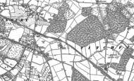 Old Map of Segensworth, 1895 - 1896