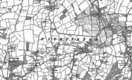 Old Map of Sellick's Green, 1903