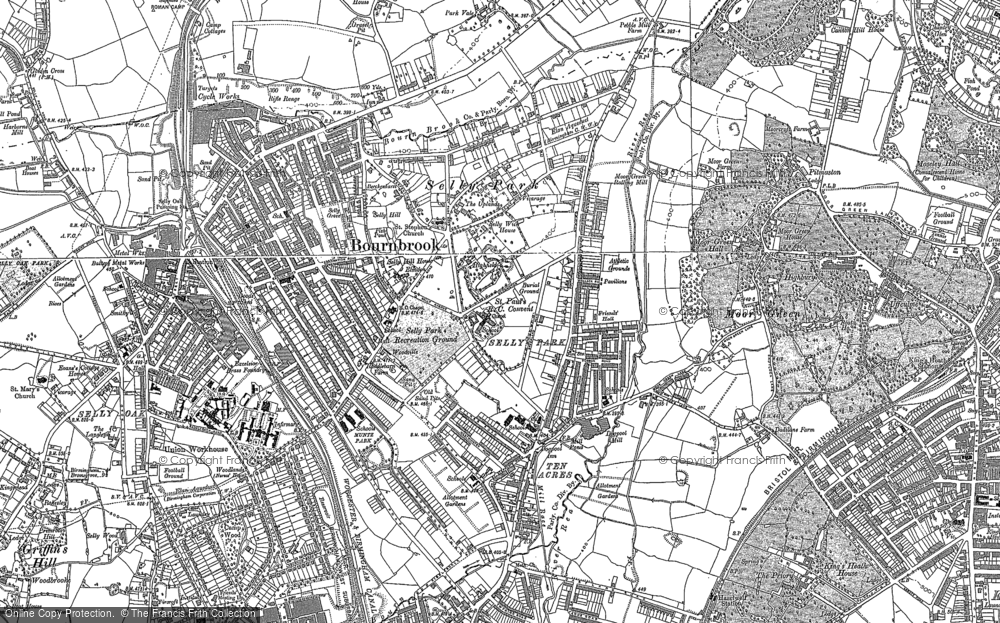 Old Maps of Selly Park - Francis Frith