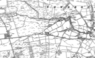 Old Map of Settlingstones, 1895