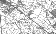 Old Map of Sevington, 1896