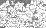 Old Map of Shard End, 1886 - 1902
