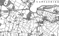 Old Map of Sharston, 1897 - 1908