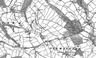 Old Map of Shawbank, 1883