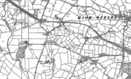 Old Map of Shebdon, 1880 - 1900