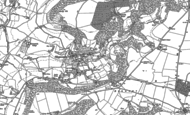 Old Map of Sheepscombe, 1882