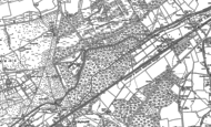 Old Map of Sheerwater, 1895