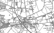Old Map of Shefford, 1882