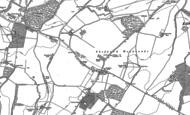 Old Map of Shefford Woodlands, 1898 - 1909