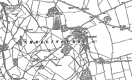 Old Map of Shellingford, 1898 - 1910
