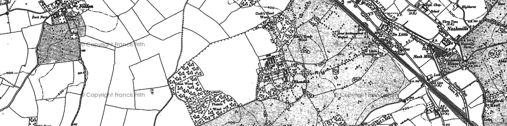 Old map of Apsley in 1897