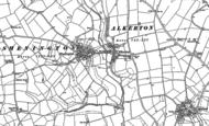 Old Map of Shenington, 1899