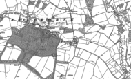 Old Map of Sherborne, 1882 - 1900