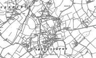 Old Map of Shillington, 1899